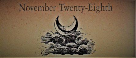 11月28日生まれの運勢と性格【星座/占星術とタロットで導く誕生日占い】